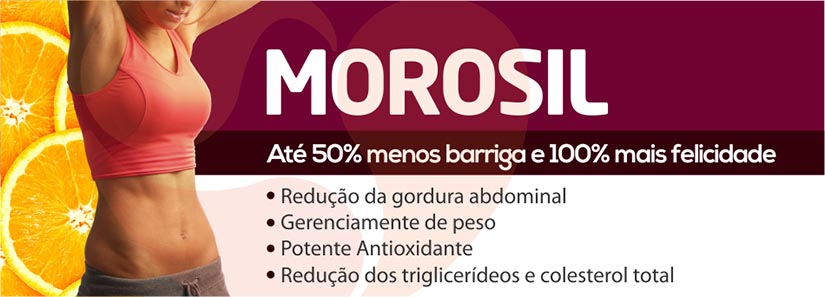 Morosil – 50% menos barriga – PharmaClinic